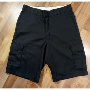 Dickies loose fit men's cargo shorts cotton twill